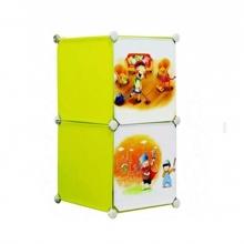 Tủ nhựa đa năng 2 ngăn Tupper Cabinet TC-2Y-C