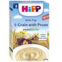 Bột dinh dưỡng Hipp ngũ cốc tổng hợp - mận tây 250g