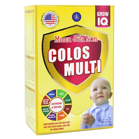 Mama sữa non Colos Muti Grow IQ - 352g (dinh dưỡng cho trẻ khỏe mạnh, ...