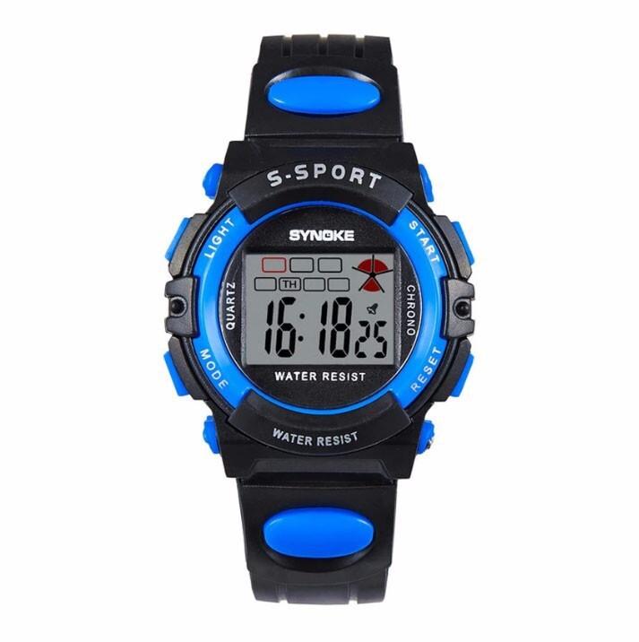 Đồng hồ trẻ em dây nhựa Synoke 99268