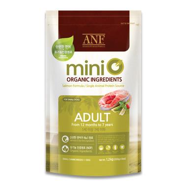 Thức ăn hạt cho chó ANF Mini O Adult - 1.2 kg, dành cho chó trưởng thà...