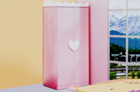 Tủ quần áo trẻ em BABY LOVE - D87Q