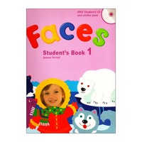 Faces 1: Student Book with CD with Sticker