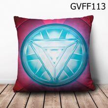 Gối vuông Logo Iron Man - GVFF113