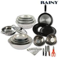 Bộ dụng cụ nhà bếp 40 món Rainy