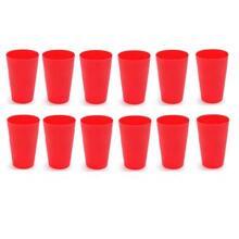 Bộ 12 cốc nhựa KD0014 - 5x9,5 cm