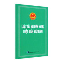 Luật Tài Nguyên Nước - Luật Biển Việt Nam