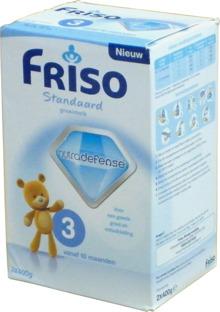 Sữa bột Friso Standard 3 - hộp 2x400g (dành cho trẻ từ 1 - 3 tuổi)