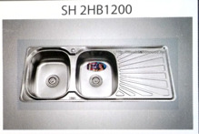 Chậu rửa chén Sơn Hà SH2HB-1200