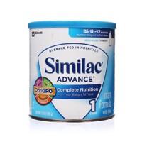 Sữa bột Abbott Similac Advance OptiGro - hộp 352g (dành cho trẻ từ 0-12 tháng tuổi)