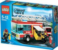 Bộ xếp hình Xe cứu hỏa Fire Truck V29 Lego 60002