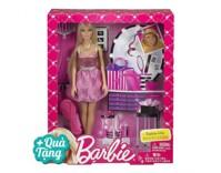 Búp bê Thời trang tóc Barbie BCF84