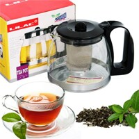 Bình lọc trà thủy tinh cao cấp Lilac 1250ml