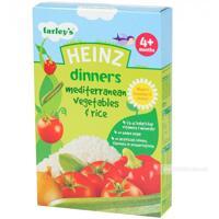 Bột ăm dặm Heinz - Gạo và rau hỗn hợp 4 m+