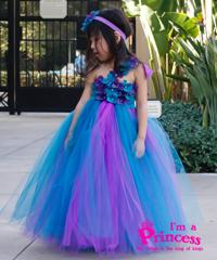 Đầm công chúa nàng tiên hoa lan rừng Princess PR109