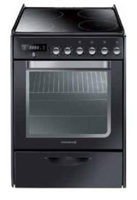 Bếp điện 4 lò có lò nướng Rosieres RVP6378PNX