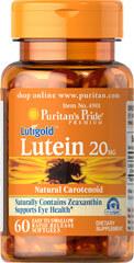 Puritan's Pride Lutein 20g - bổ mắt chứa Lutein & Zeaxanthin chống suy thoái võng mạc và điểm vàng - 60 viên