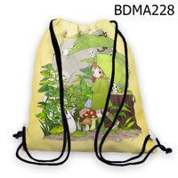 Baloi rút in hình Totoro và cô bé cầm dù BDMA228