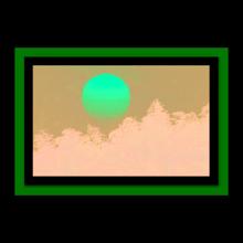 Tranh khung Thế giới tranh đẹp KW50-37
