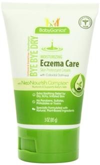 Kem dưỡng da trị Eczema Baby Ganics