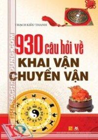 930 Câu hỏi về khai vận chuyển vận