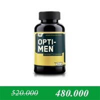 Thực phẩm bổ sung tăng cơ và cải thiện sức khỏe Optimum Nutrition Opti-Men (Men's Multiple) 90 viên