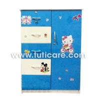 Tủ nhựa Đài Loan cho bé C13 - 5 tầng