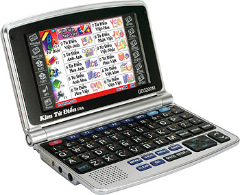 Kim từ điển GD6100M (GD-6100M/ GD6100) - 18 bộ đại từ điển ...