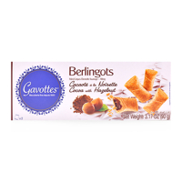 Bánh Berlingots cacao hạt dẻ Gavottes hộp 90g