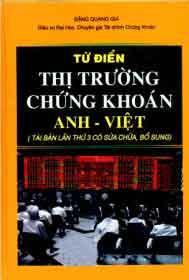 Từ Điển Thị Trường Chứng Khoán Anh Việt