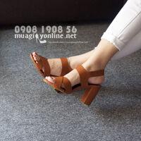 Giày sandal gót trụ Vanessa
