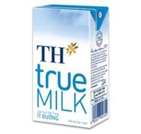 Sữa tươi tiệt trùng ít đường TH True Milk 180ml