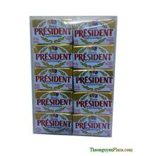 Bơ lạt gói President vỉ 100g (Bơ ngoại)