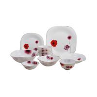 Bộ 12 món đồ dùng bàn ăn thủy tinh ngọc Vitriares 805-12V