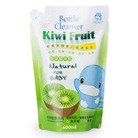 Nước rửa bình sữa Kiwi KuKu KU1081 (kuku 1081) - Dạng túi 600ml
