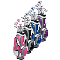 Bộ gậy golf fullset nữ Callaway Solaire Gems