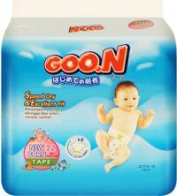 Tã dán Goo.n Slim Newborn22 (~5kg)