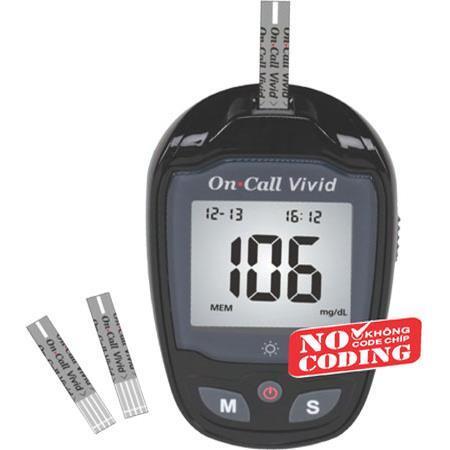 Máy đo đường huyết On-Call Vivid