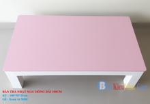 Bàn nhật màu hồng dài 100cm