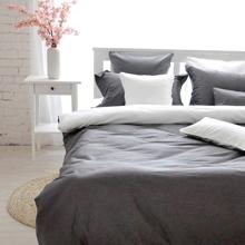 Bộ drap gối cotton satin Ai Cập Julia 536BK18 180 x 200 x 28 cm