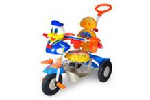 Xe 3 bánh con vịt có điều khiển, đai bảo vệ, nhạc