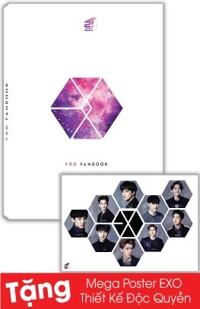 Exo Fanbook (Tặng Kèm Mega Poster EXO Thiết Kế Độc Quyền )