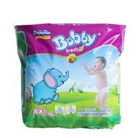 Tã quần Bobby Fresh size XXL 16 miếng (trẻ trên 16kg)