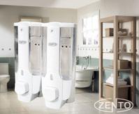 Hộp đựng sữa tắm dầu gội gắn tường kép Zento ZT402