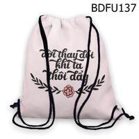 Túi rút Đời thay đổi khi ta thôi đẩy - BDFU137