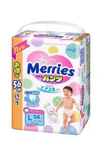 Tã quần Merries L56