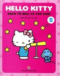 Hello Kitty - Sách Tô Màu Và Trò Chơi (Tập 5)