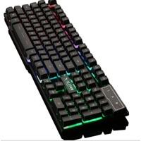 Bàn phím chơi game led nền 7 màu MADWARIOR GX50