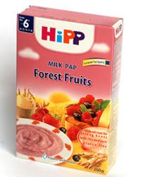 Bột dinh dưỡng sữa Hoa quả rừng HiPP - 250g