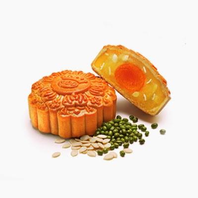 Bánh nướng Kinh đô đậu xanh hạt dưa 2 trứng ĐB 250g